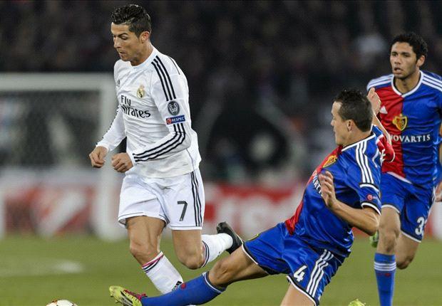 Basel 0-1 Real Madrid: Ronaldo earns Blancos club-record 15th successive win