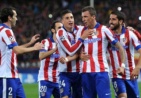 Atlético plaatst zich na ruime zege