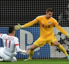 Leverkusen thwarted by Ocampos strike