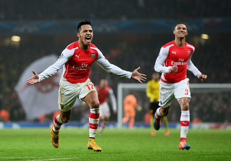 FT. Arsenal 2-0 Borussia Dortmund