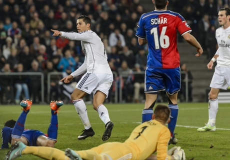 Ronaldo equals Raul's CL tally
