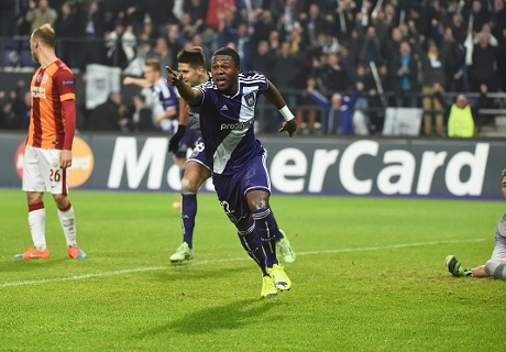 Anderlecht 2-0 Galatasaray: Mbemba doubles