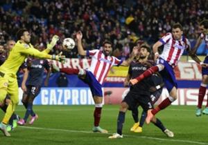 El Atlético volvería a tener más ocasiones, pero el marcador ya no volvería a moverse