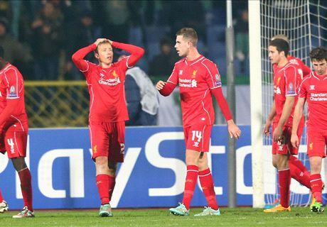 Liverpool ziet kansen slinken na late goal