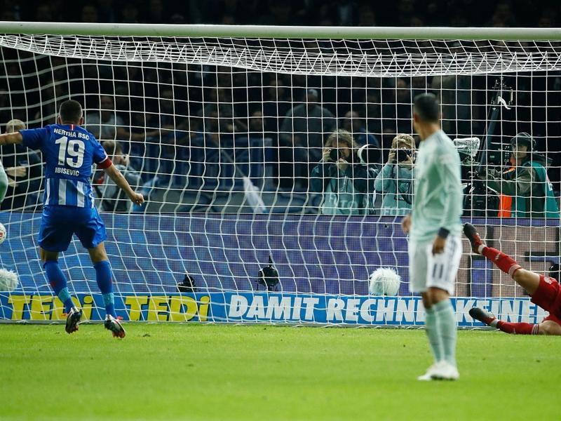 Allemagne - Le Bayern Munich tombe pour la première fois de la saison en Bundesliga avec sa défaite 2-0 face à l'Hertha Berlin