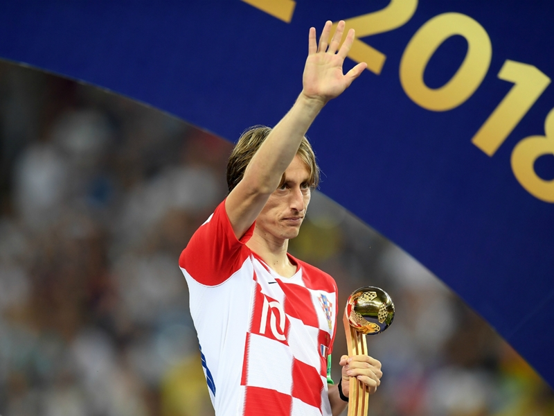 Ibrahimovic delighted Modric was rewarded for 'his year' with Ballon d'Or