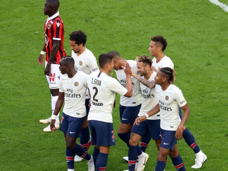 Nice-PSG 0-3 - En domptant Nice, le PSG poursuit son sans faute et s'offre un record