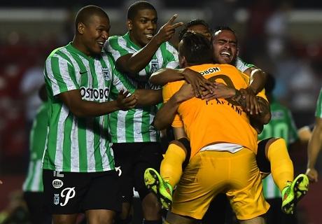 Sudamericana: Sao Paulo 1-0 (1-4) Nacional