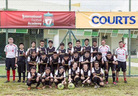 Courts and Liverpool Academy Support Singapore Youth Development
