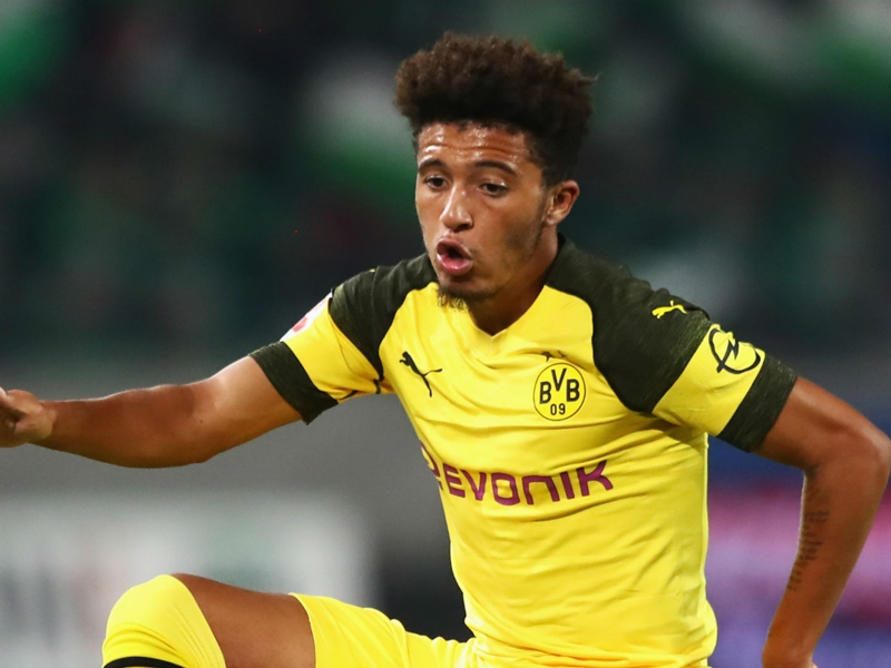 Who is Jadon Sancho? England's Bundesliga assist king