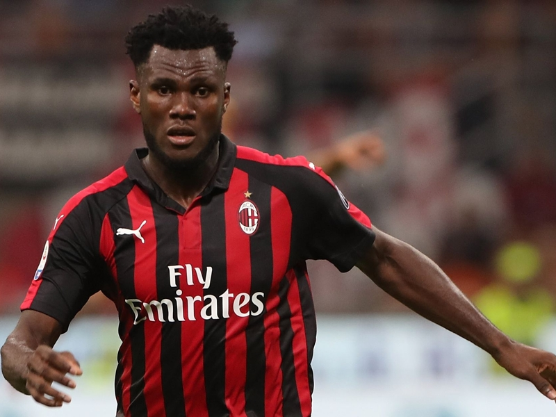 Franck Kessie ruled out of AC Milan's Europa League game
