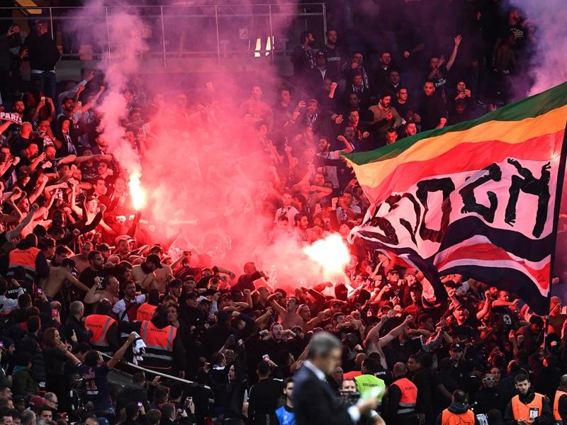 35 000 euros d'amende pour le PSG après les incidents face à Belgrade