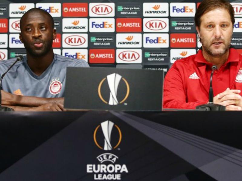 Olympiacos' Yaya Toure fires AC Milan warning ahead of their Europa League clash