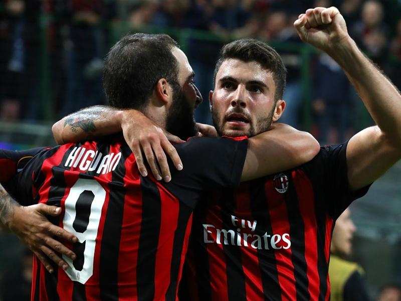 AC Milan 3 Olympiacos 1: Higuain, Cutrone mount Rossoneri rescue act