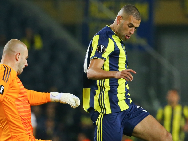 Islam Slimani 'happy' after leading Fenerbahce to first Europa League win