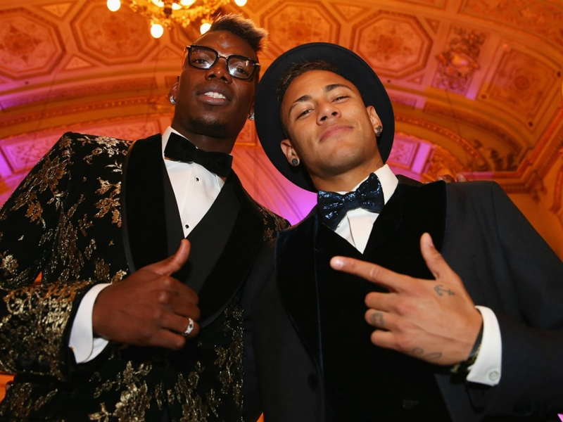 Neymar sounds out Pogba over potential PSG move