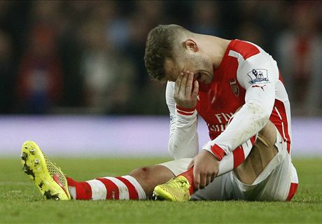 Wilshere out for up to three months