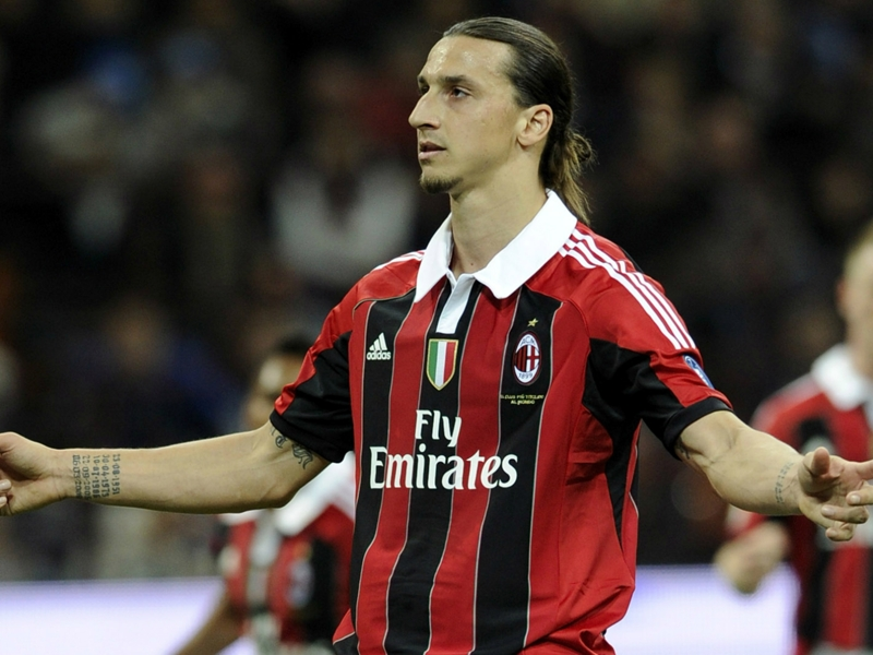 Ibrahimovic prepared to talk to Milan, says agent Raiola