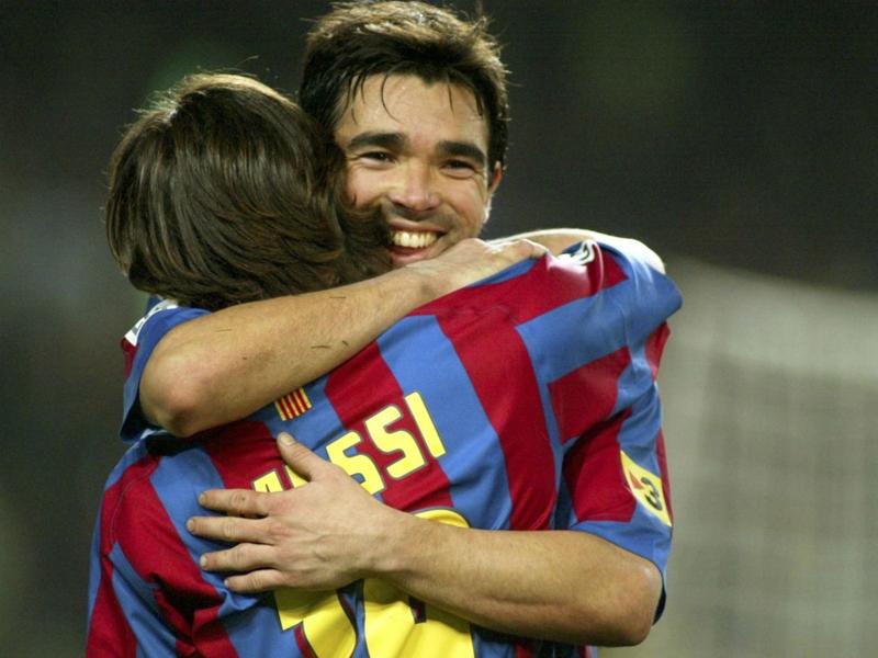 """Deco : """"Messi rend le Barça meilleur"""""""