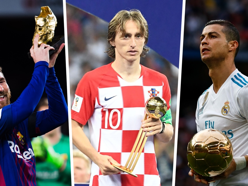 Modric, Messi & Ronaldo among Ballon d'Or 30-man nominee list