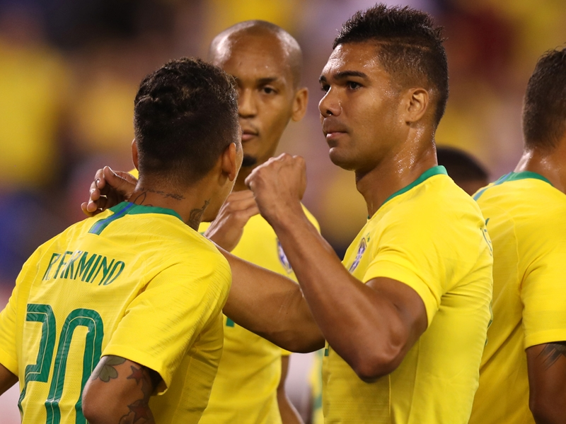 Who and where are Brazil playing this month and who is in the squad?