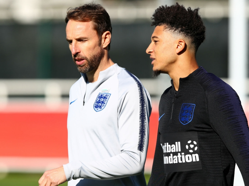 Young England squad 'not experimental', claims Southgate