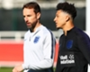 Gareth Southgate with England youngster Jadon Sancho