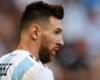 Argentina international Lionel Messi