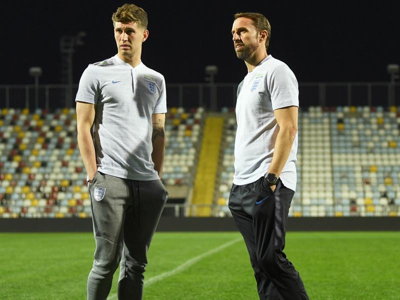 England's Stones ready for 'strange' Croatia clash
