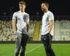 England defender John Stones and manager Gareth Southgate