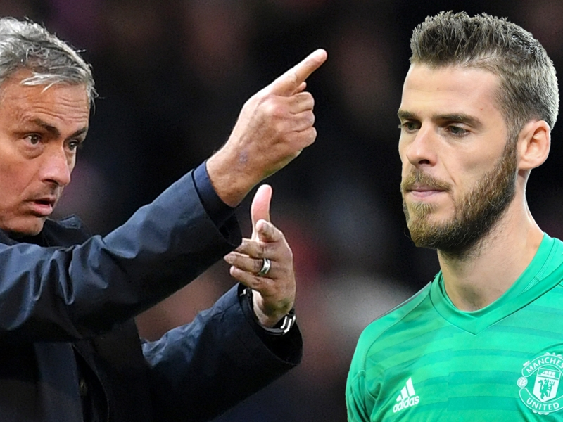 How Mourinho's tactics stopped De Gea being world's best all-round goalkeeper