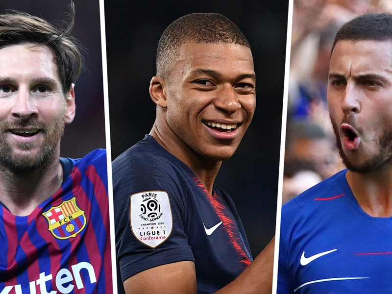 Messi, Mbappe, Hazard & the European Team of the Season so far