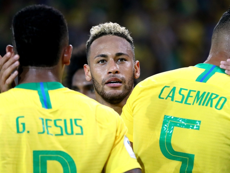 Saudi Arabia 0 Brazil 2: Neymar and Jesus star in straightforward win