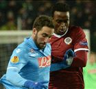 Match Report: Sparta Prague 0-0 Napoli