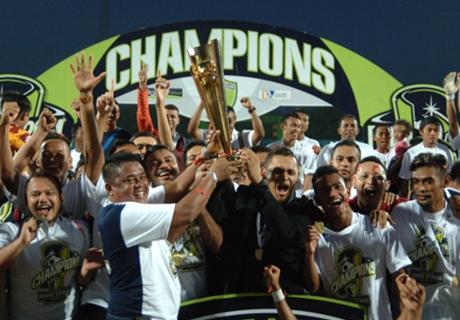 Pusamania Juara Divisi Utama 2014