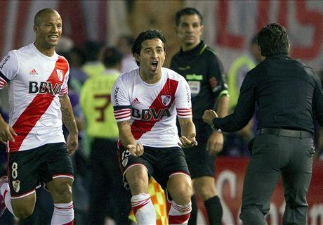 Copa Sudamericana: River 1-0 Boca