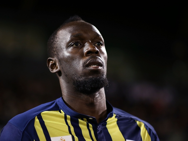 Bolt not giving up on professional football career