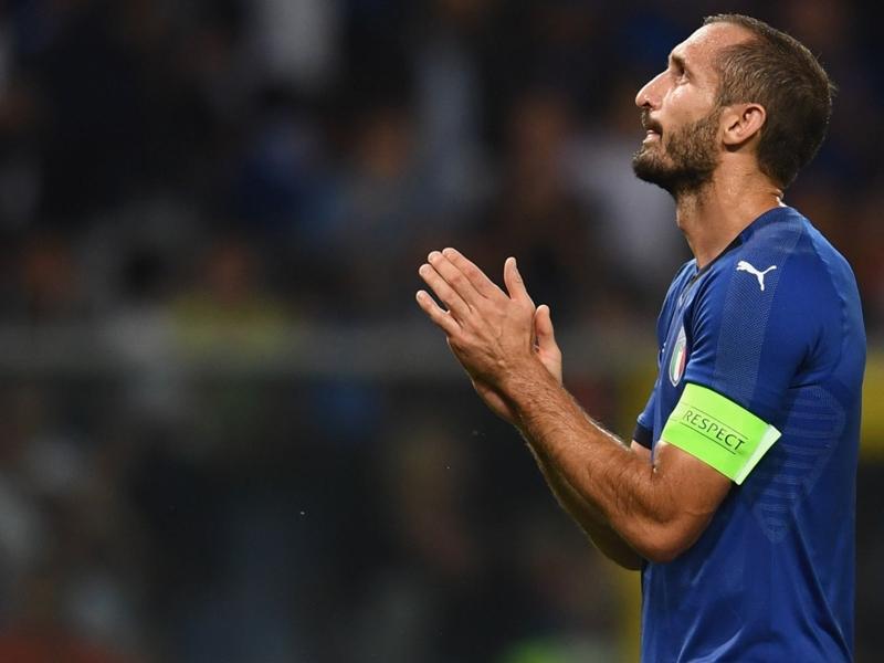 كيليني يكشف مصادفة غريبة بشأن مباراته المئوية مع إيطاليا