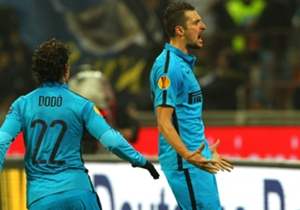 FC Internazionale memastikan diri lolos dari grup F Liga Europa sebagai juara grup