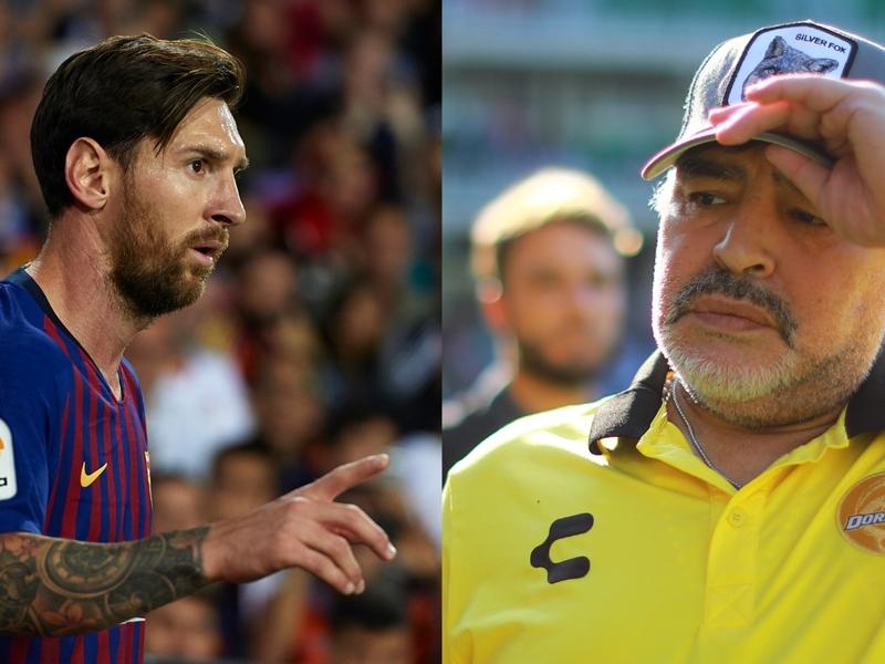 """Argentine - Diego Maradona s'excuse : """"Je sais qui est Lionel Messi. C'est le meilleur joueur du monde"""""""