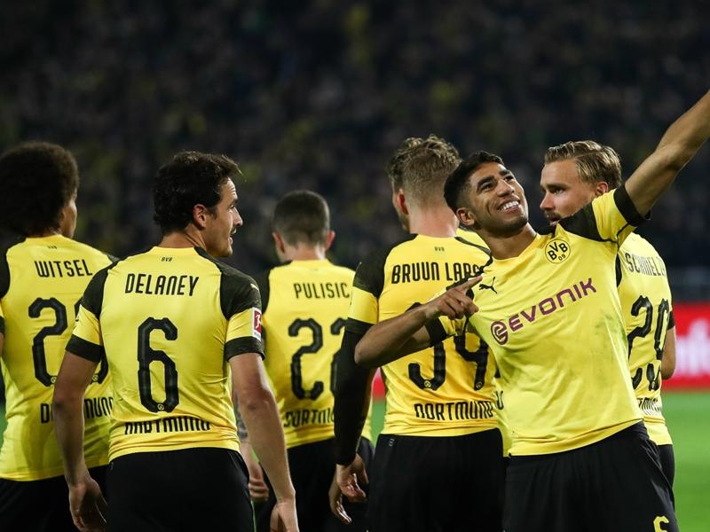 Borussia Dortmund's Achraf Hakimi named Bundesliga Rookie of the Month