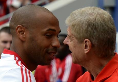 Henry hints at Arsenal return