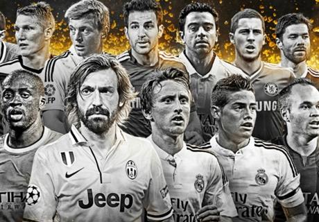 TOP centrocampistas del mundo