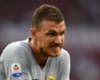 Roma striker Edin Dzeko