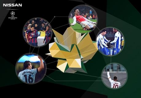 อเล็กซิส, ซัวเรซ, อเกวโร, ต็อตติ หรือเอร์เรรา? โหวต UEFA Champions League Goal of the Week ในใจคุณ!