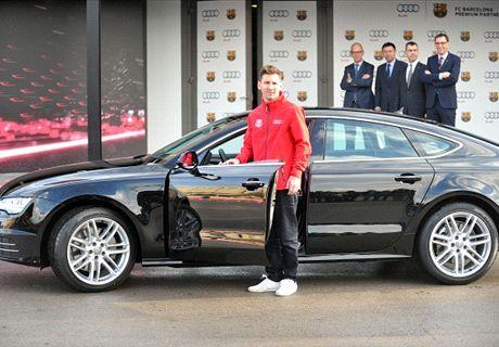 Autos nuevos para Messi y todo Barcelona