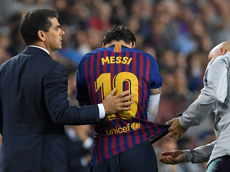 Barça : 3 semaines d'absence pour Messi, qui manquera le Clasico