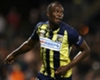 Usain Bolt in a pre-season match for Central Coast Mariners