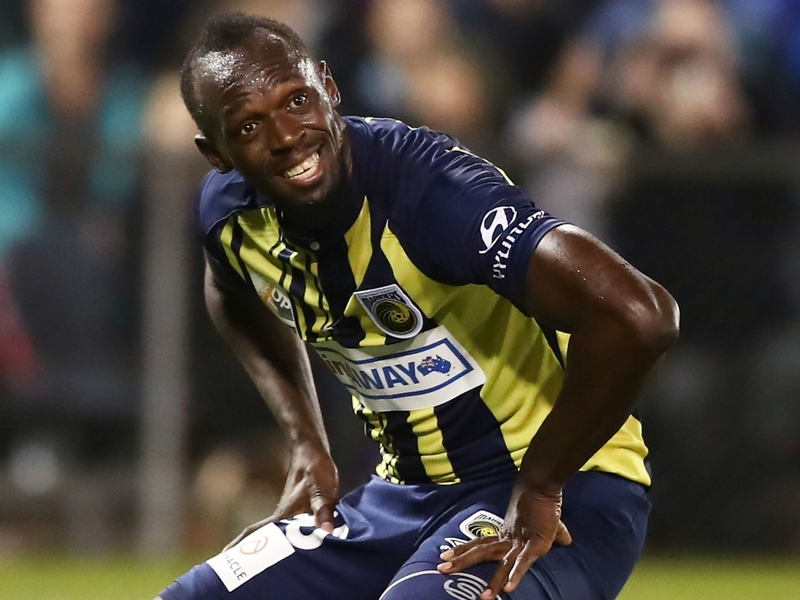 'I've got a lot of offers' - Bolt to decide on football career by the end of November