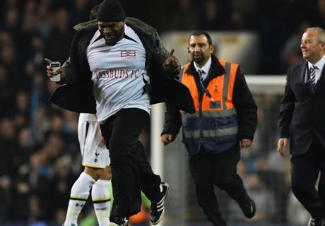 Tottenham é multado por invasões